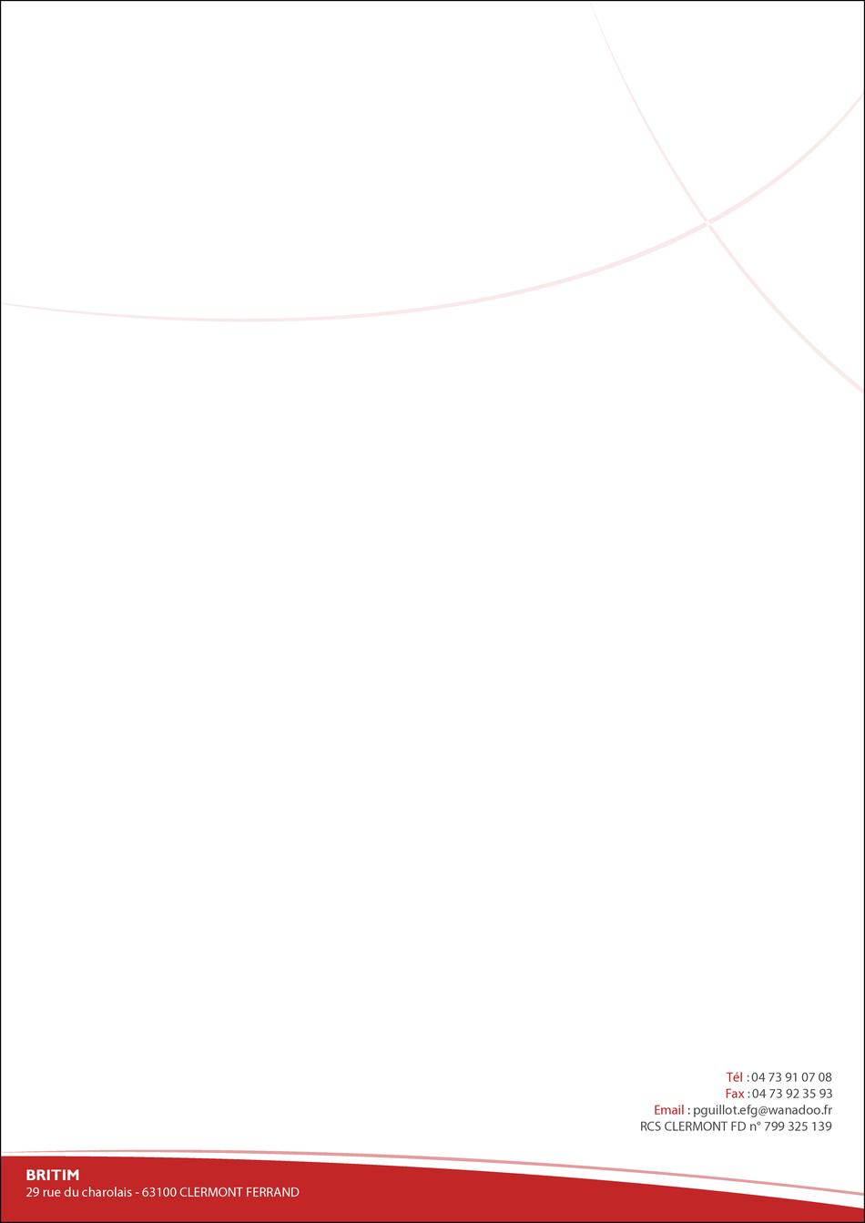 Super Modèle de papier entête, choix de modèle de papier entête, entête YI96