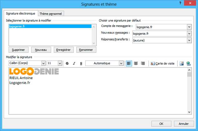 how to add signature in outlook 2010 mac