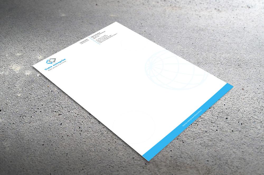 Extrêmement Papier entete - créer des tetes de lettre MP49
