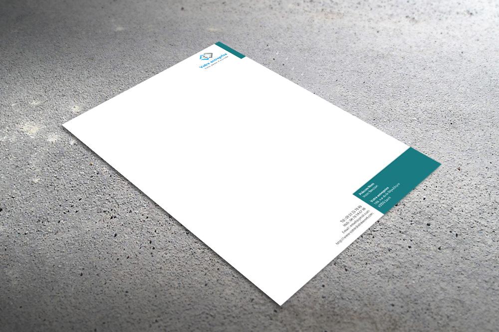 Célèbre Papier entete - créer des tetes de lettre IU18