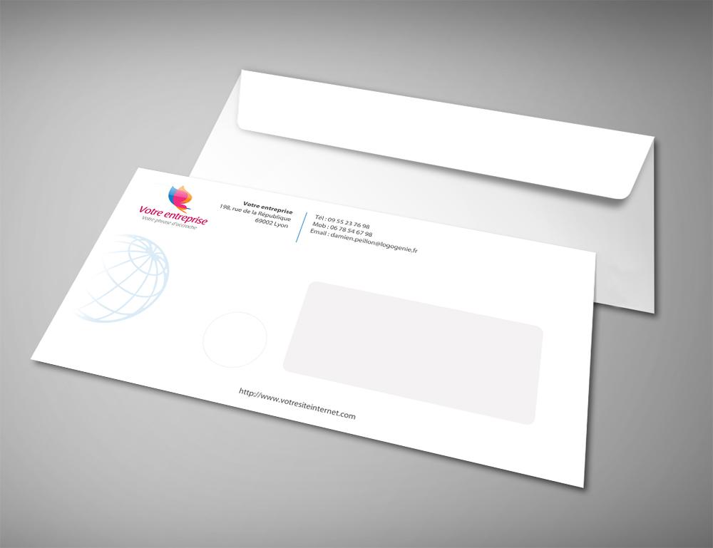 enveloppes personnalis u00e9es lettre a-b-c