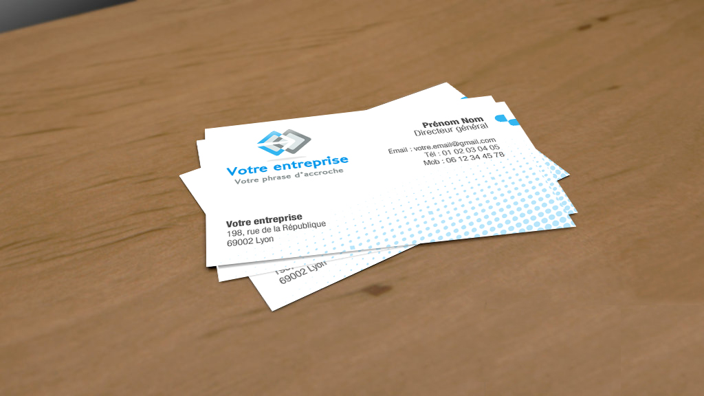 Cartes De Visite Design Photo Video