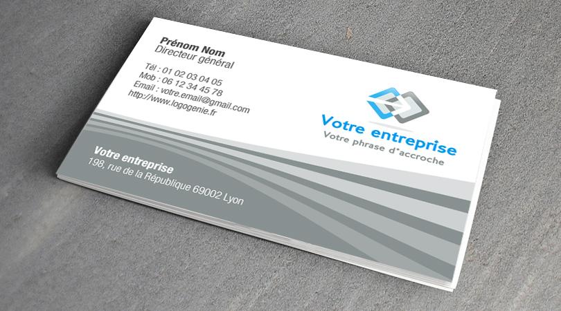 Cartes De Visite Design Photo Video