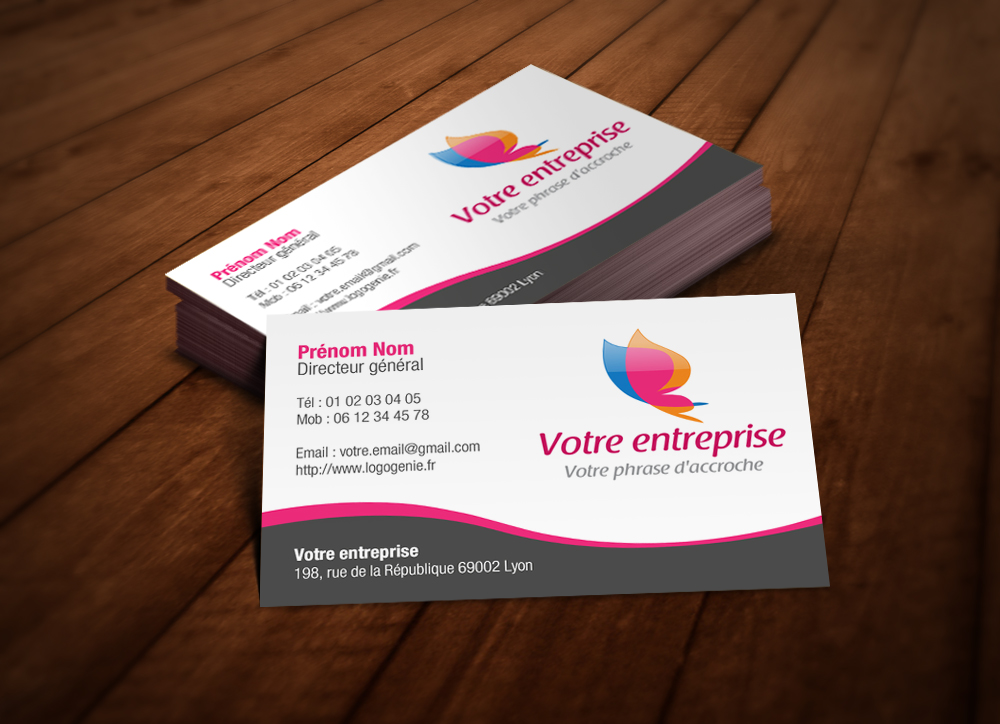 Cartes De Visite Agence Web Marketing