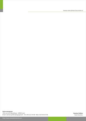 Très Papier entete - créer des tetes de lettre MU02